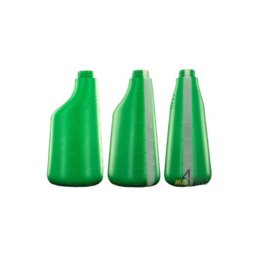 Bouteille polyéthylène 600 ml verte