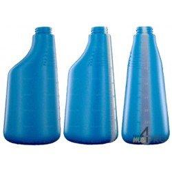 Bouteille polyéthylène 600 ml bleue