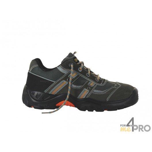 Chaussures de sécurité homme Coyote basses - normes S1P/SRC