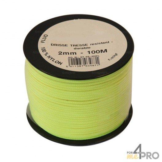 Cordeau nylon fluorescent Ø1,5mm