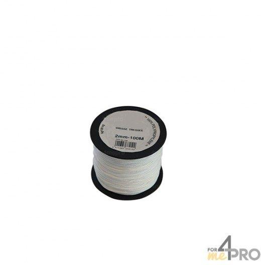 Cordeau polypropylène blanc Ø2mm