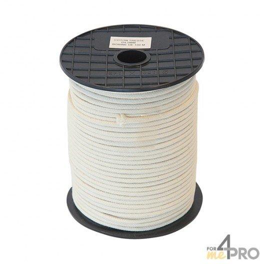 Cordeau coton cablé Ø3mm