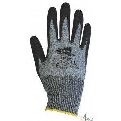 Gants Anti-Coupure polyuréthane gris - norme EN 388 4542