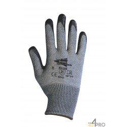 Gants Anti-Coupure nitrile noir  - norme EN 388 4542