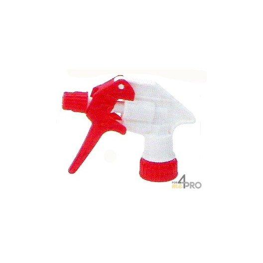 Tête de vaporisateur Tex-Spray Blanc / Rouge avec tube de 25 cm