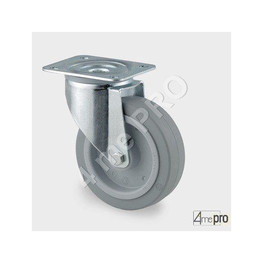 roulette industrielle charge max 400kg 4me29011 quincaillerie. Black Bedroom Furniture Sets. Home Design Ideas