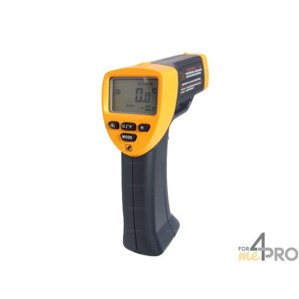 4mepro-thermomètre Infrarouge à Visée Laser -20°c à +530°c