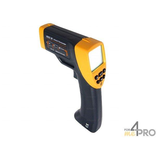 4mepro-thermomètre Infrarouge à Visée Laser Et émissivité Réglable -20°c à +530°c