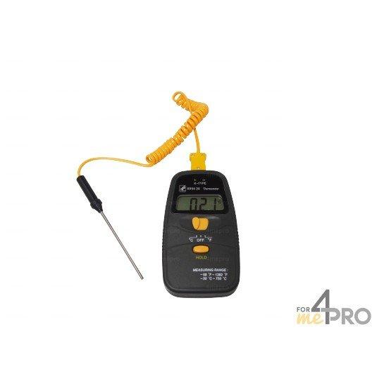 Thermomètre à sonde interchangeable -50°C à +700°C