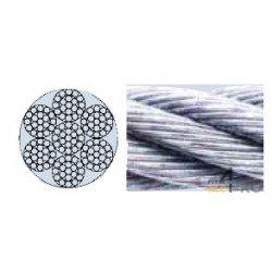 Câble acier 3 mm - 7 x 19