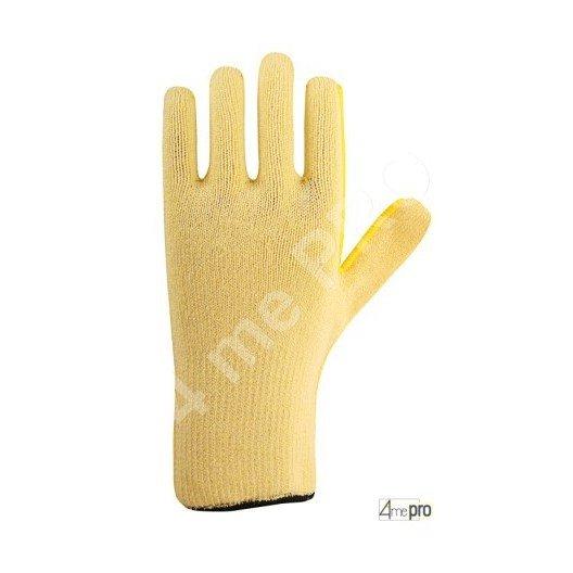 gants anti coupure haute r 233 sistance 224 la chaleur support composite jaune normes en 388 454x