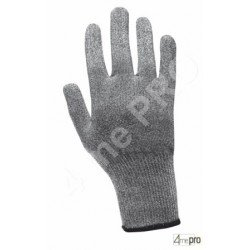 Gants anti-coupure ambidextres - support composite gris - norme EN 388 254x