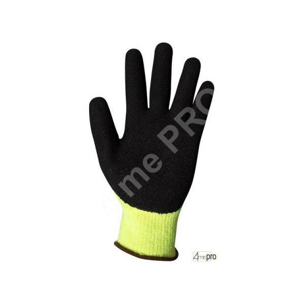 Gants anti coupure latex noir r sistant au froid 4mepro - Gant latex noir ...
