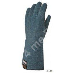Gants anti-coupure en nitrile imperméable - 33cm - normes EN 388 4543 / EN 407 x2xxxx / EN 374 AKL