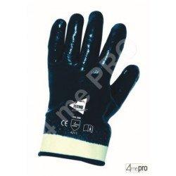 Gants manutention lourde - nitrile lourd imperméable main entière - norme EN 388 4211