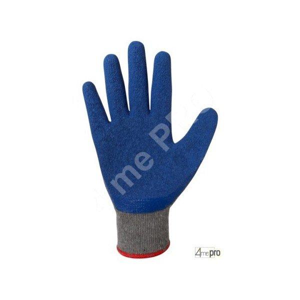 gants manutention enduction latex sur support polycoton gris. Black Bedroom Furniture Sets. Home Design Ideas