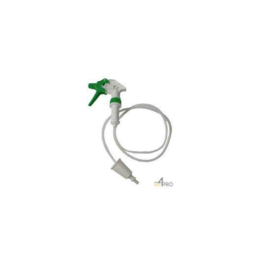 Spray + Tube blanc/vert