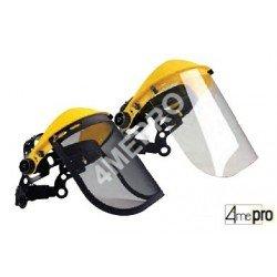 Ecran facial et visière de protection - norme EN 1731 F/EN 166 3B