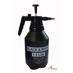 Pulvérisateur Black & White 1,5 l noir