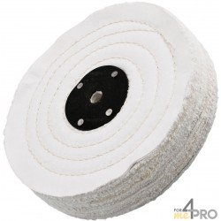 Disque toile en coton écru 200x25 mm
