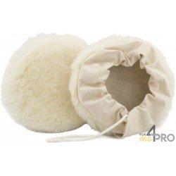 Bonnet en laine tissée avec fixation à lacets 225 mm