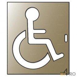 Pochoir handicapé