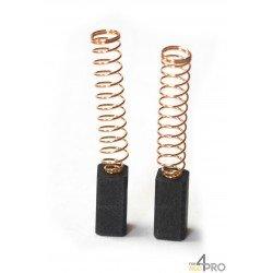 Balai charbon pour perceuses et visseuses BLACK&DECKER 6 x 6 x 15 mm