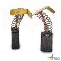 Balai charbon pour perceuses et marteaux RYOBI 6 x 9 x 15 mm