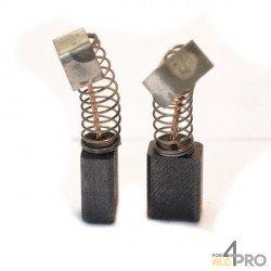 Balai charbon pour rabots et perceuses RYOBI 5 x 8 x 11 mm