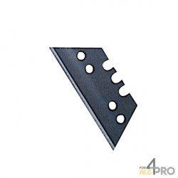 Lames de rechange maxi trapèze 50 mm pour cutter et couteau de sécurité