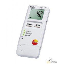 Enregistreur de données de température et d'humidité Testo 184 H1