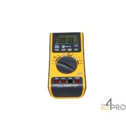 Multimètre 5 en 1 : thermomètre, luxmètre, sonomètre, hygromètre, voltmètre