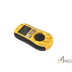 Multimètre : voltmètre, ampèremètre, ohmmètre