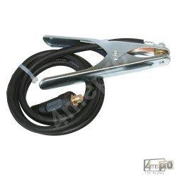 Câble pince de masse 200 A - connecteur 10/25