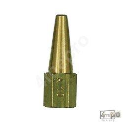 Bec acétylène pour chalumeau petite capacité Cirrus 00