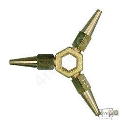 Étoile 3 becs pour chalumeau petite capacité Cirrus 00