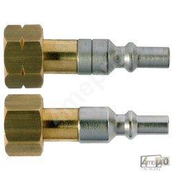 Raccord coupleur mâle pour chalumeau M16 Oxy/AD
