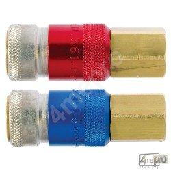 Raccord coupleur femelle pour détendeur M16 Oxy/AD
