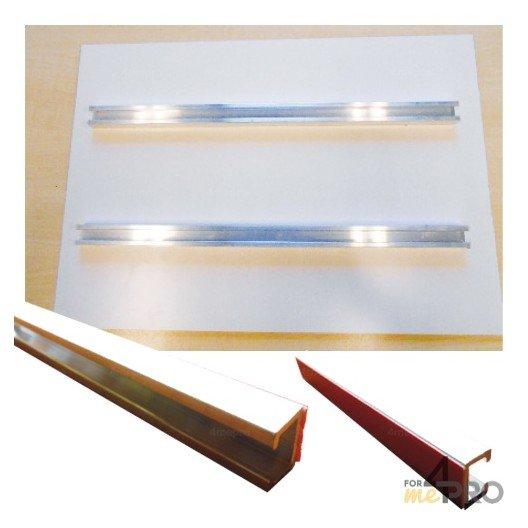 Rails de fixation pour panneaux de 45 cm
