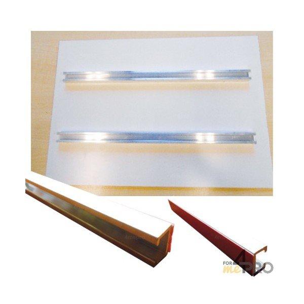 rails de fixation pour poteau galvanis 4mepro. Black Bedroom Furniture Sets. Home Design Ideas
