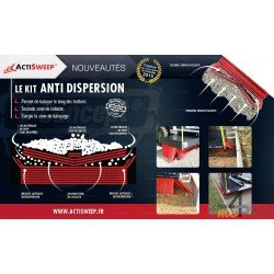 Kit anti-dispersion pour balai pousseur