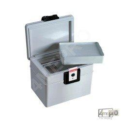 Boîte de protection feu et eau pour CD et bandes magnétiques