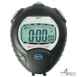 Chronomètre résistant aux projections d'eau