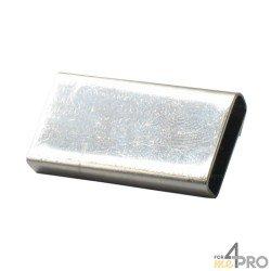 Gaine inox pour ruban de 10 à 12 mm Lacmé