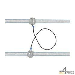 Liaison universelle pour ruban 20 ou 40 mm