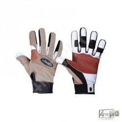 Gants en cuir et tissu Rope Tech Gloves - Beal