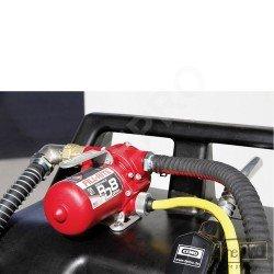 Caddy pour ravitaillement en essence avec pompe électrique