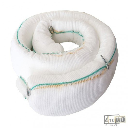 Boudin absorbant hydrocarbure blanc