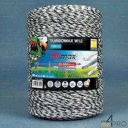 Fil Turbomax W12 noir-blanc - 12 conducteurs