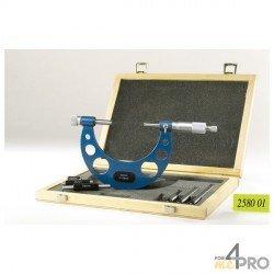 Micromètre extérieur avec rallonge 0-100 mm